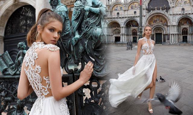 Vestido de novia de lo más sexy, por Julie Vino