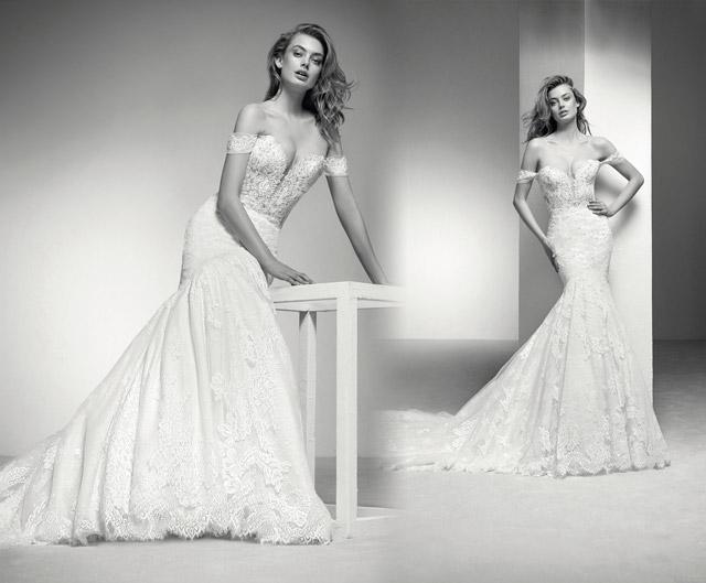 Vestido de novia de lo más sexy, por Pronovias