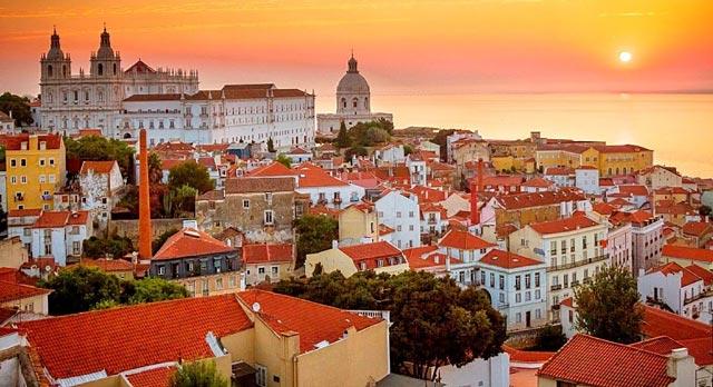 Lisboa, ciudad romántica para nuestar luna de miel por Europa
