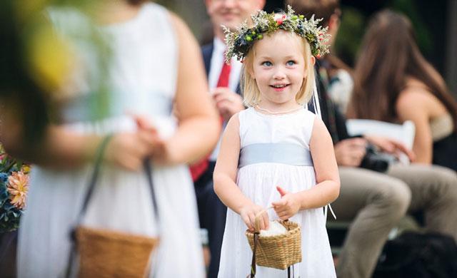 ¿Niños en bodas? ¿Sí o no?