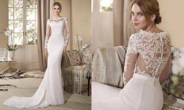 Vestido de novia para bodas en otoño, de Cabotine