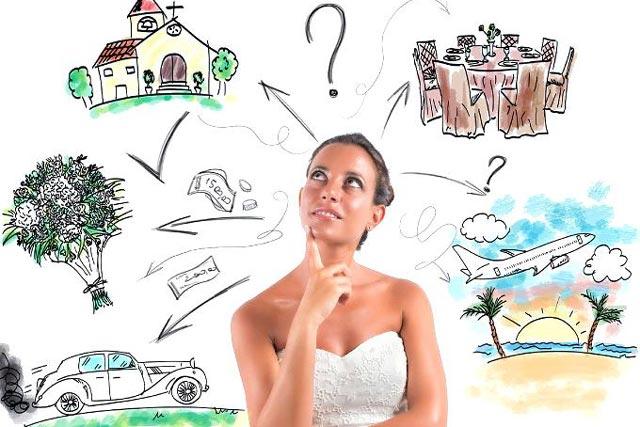 Debemos evitar el estrés que puede crearnos la planificación de nuestra boda