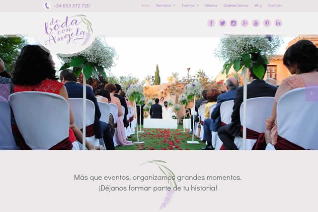 Nueva web DeBodaconAngela.com