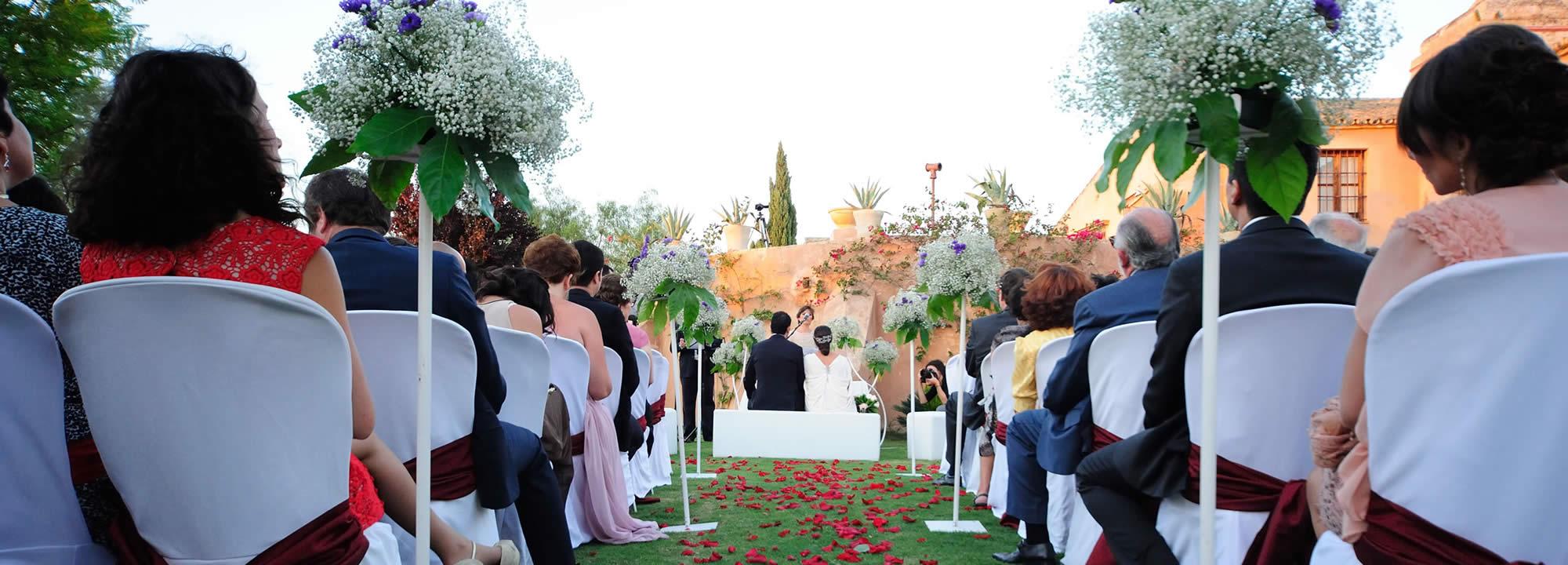 ¿Necesitas organizar tu boda en Sevilla?