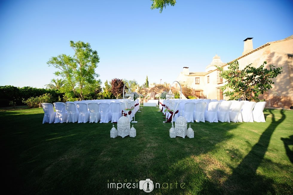 Ceremonia civil en Hacienda Los Molinillos