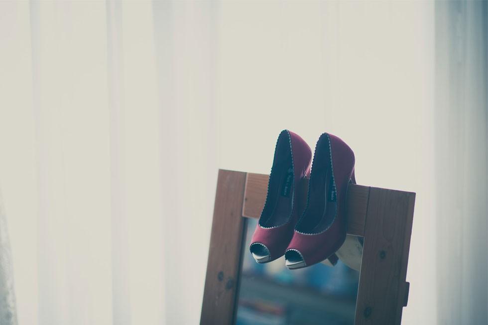 Los zapatos de novia de Marta