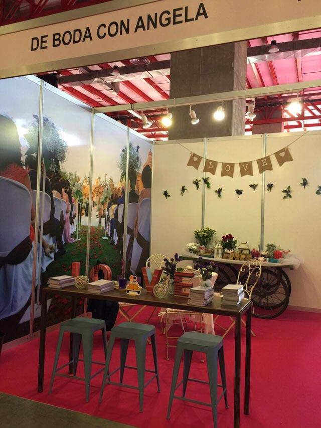 Detalle de una de las paredes de nuestro stand en Expo Mujer España 2015