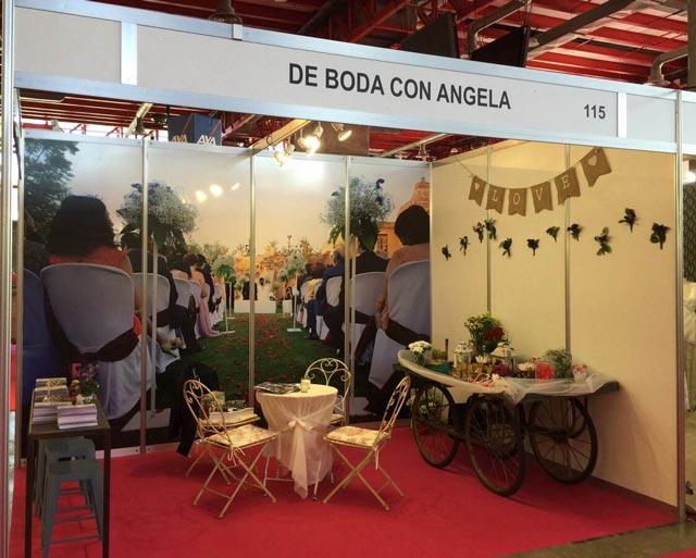 Nuestro stand en la Feria Expo Mujer España 2015