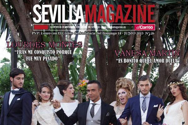Portada de la revista Sevilla Magazine de junio 2015