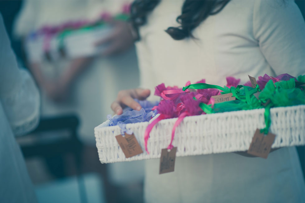Algunos regalos para las invitadas de Marta y Joaquín
