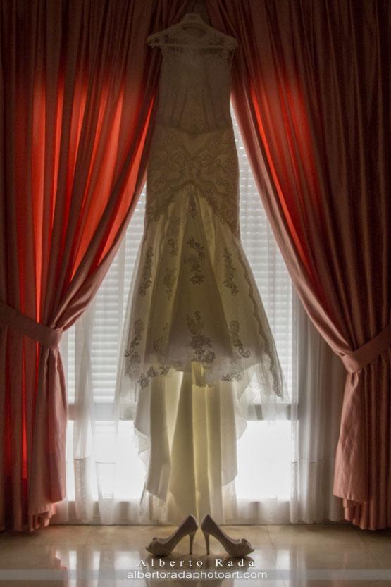Vestido de novia de María