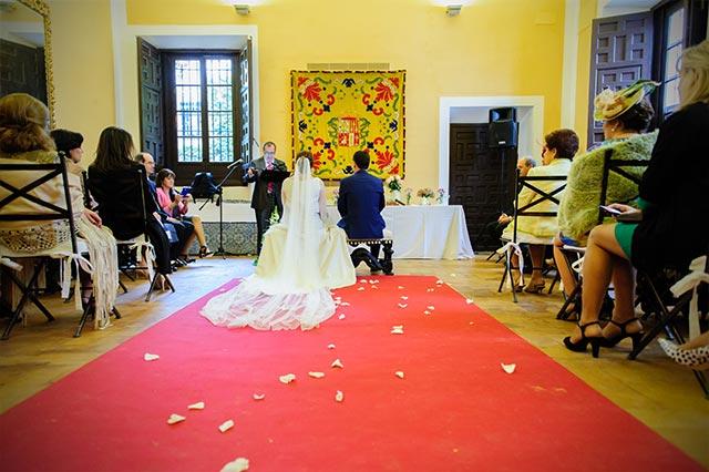 La boda más romántica jamás celebrada en la Casa Palacio Bucarelli de Sevilla