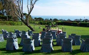 Celebración de bodas en el Parador de Mazagón