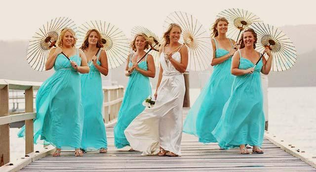 La novia es la protagonista de la boda