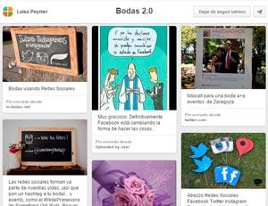 Pinterest es la red social por excelencia para bodas