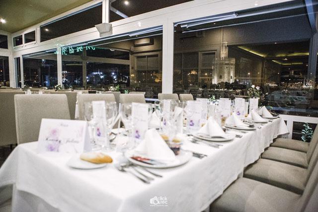 Salón del Restaurante Río Grande en Sevilla