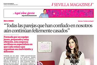 De Boda con Ángela entrevistada por El Correo de Andalucía