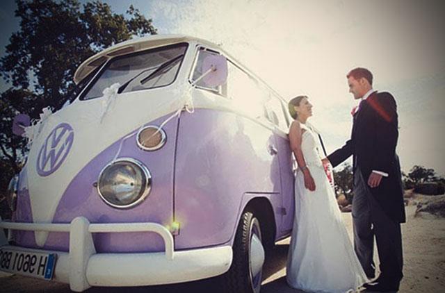 Medios de transporte para bodas originales