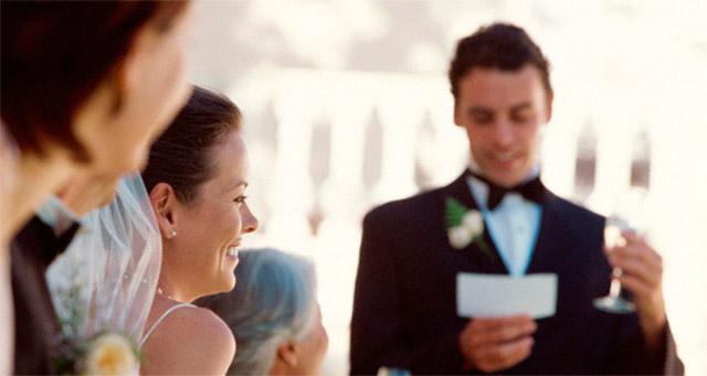 Consejos para preparar un discurso de boda