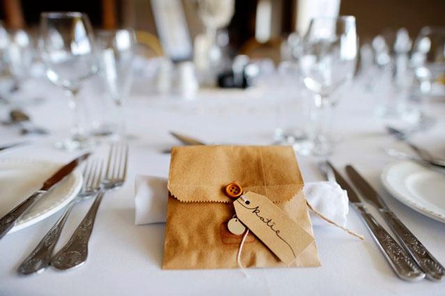 Cómo saber cuánto cuesta el cubierto de un banquete de boda para hacer un buen regalo