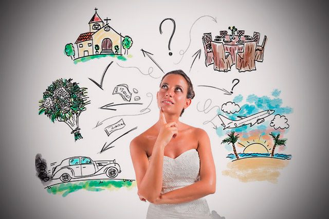 Los 8 detalles que una novia no puede olvidar el día de su boda
