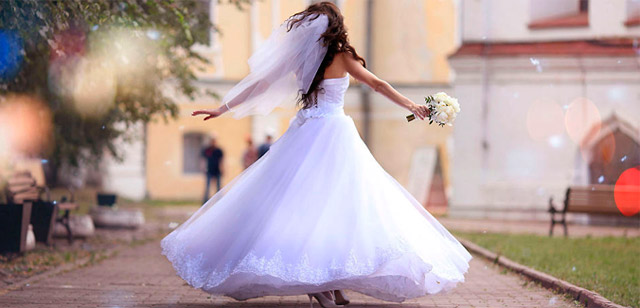 Resultado de imagen de novia disfrutando boda