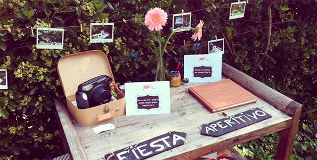 Cámara Polaroid para inmortalizar momentos inolvidables en vuestra boda
