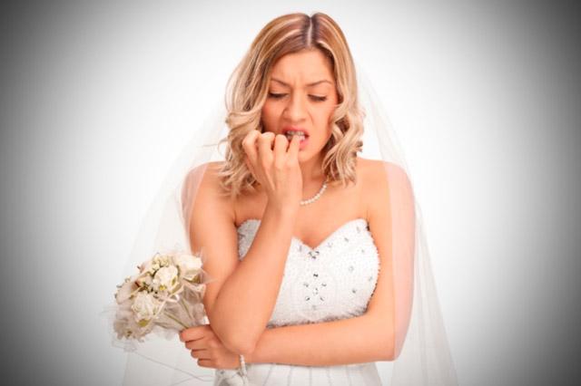 Consejos para no estar nerviosa antes de la boda