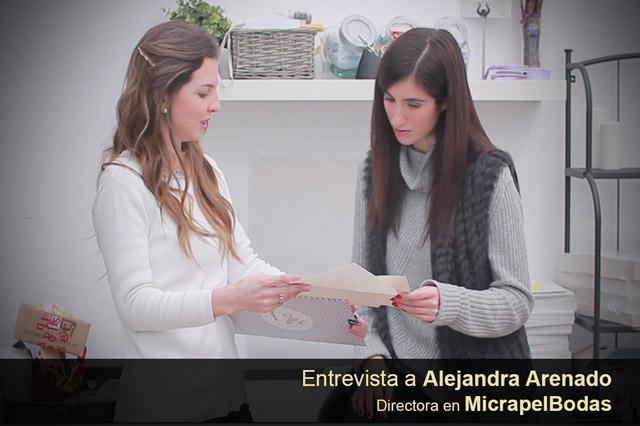 MicrapelBodas. Hablamos con Alejandra Arenado, su Directora