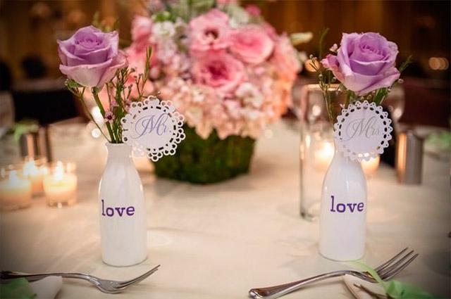 Consejos para decorar la mesa nupcial para tu boda