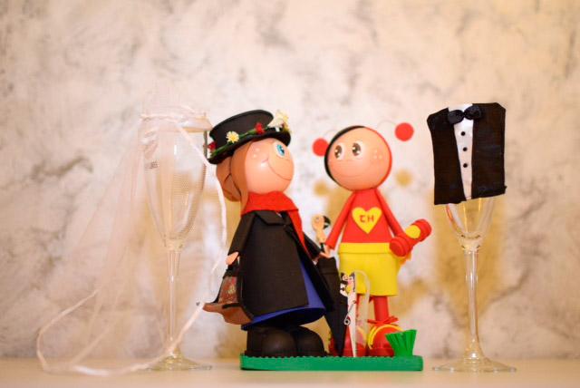 Regalo DIY realizado por los novios para los invitados a su boda