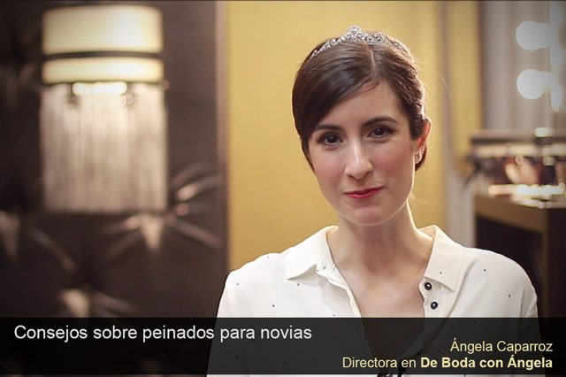 Video Consejo sobre tipos de Peinados para Novias  