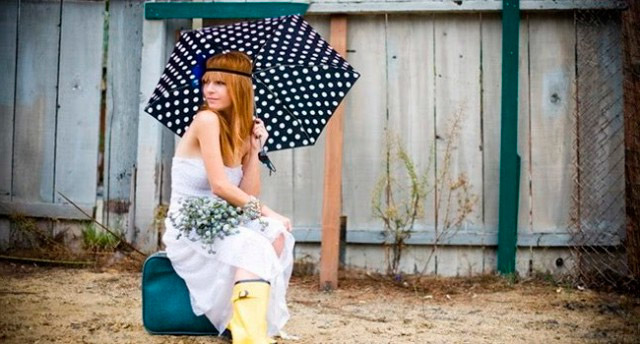 Cómo adaptarse a una boda un día nublado