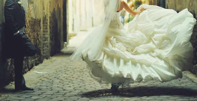 El significado del vestido blanco para una novia