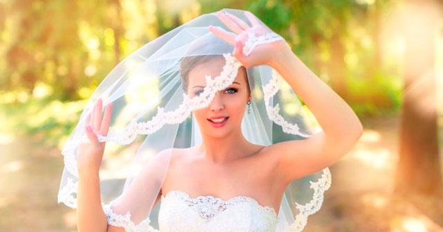 El significado del velo para la novia