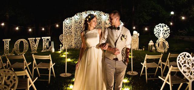 Todos los INCONVENIENTES de celebrar una boda por la noche