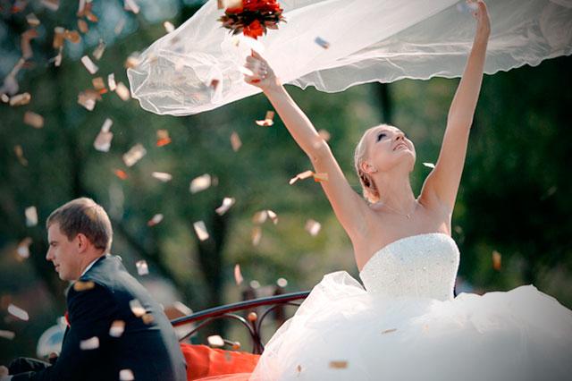 Todas las ventajas e inconvenientes al celebrar una boda de día