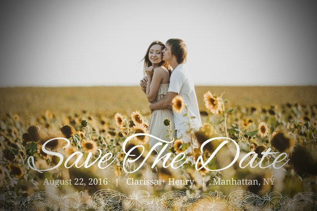 ¿Qué es un Save The Date?