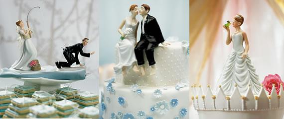Figuras de novios para tartas de bodas