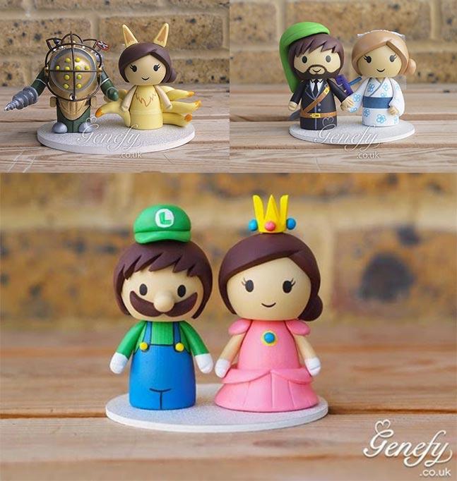 Figuras de Videojuegos para tartas de bodas