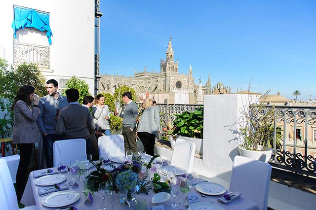 Almuerzo de empresa del equipo de De boda con Ángela