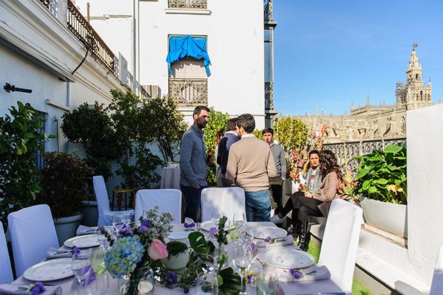 Cena de empresa de Navidad 2017 del equipo de De boda con Ángela