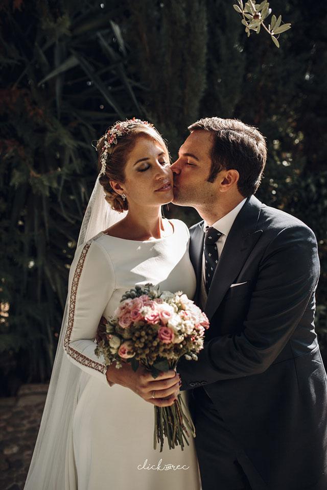Lidia y Pablo se casaron en Sevilla, totalmente enamorados