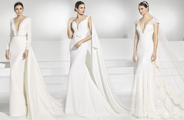 Vestido de novia de lo más sexy, por Pol Núñez