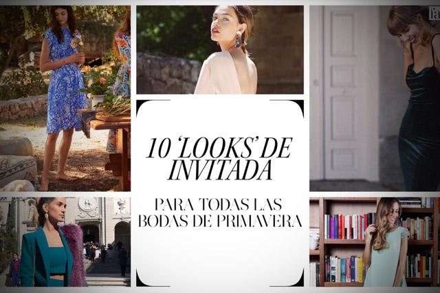 10 looks de invitadas para bodas en Primavera 2018, por la revista HOLA