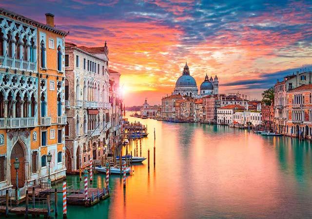 Venecia, ciudad romántica para nuestar luna de miel