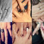 Cambiando los anillos de boda por preciosos tatuajes