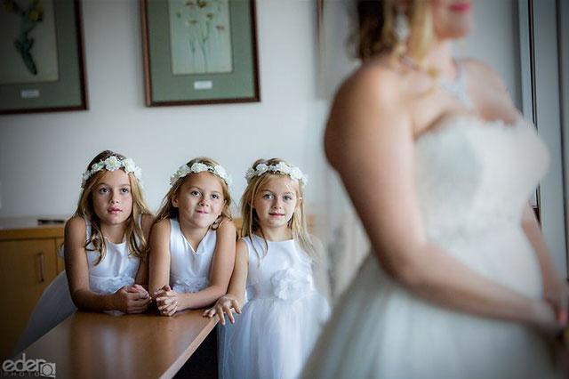 Como organizar una boda para que los niños participen