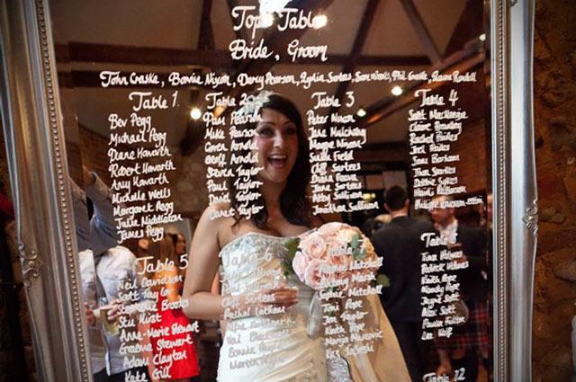 Ideas originales para el Seating Plan de una bodas