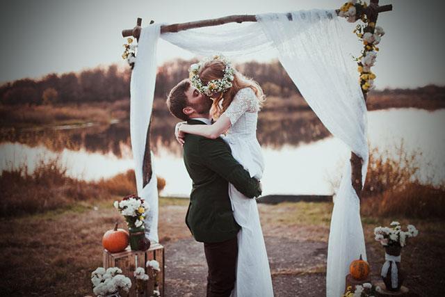 Consejos para que vuestra boda en otoño sea todo un éxito, divertida, elegante y original